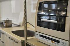 食洗機もあります。(2013-03-29,共用部,KITCHEN,2F)