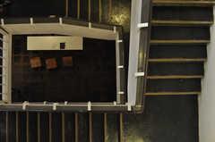 階段の様子。(2013-10-18,共用部,OTHER,2F)