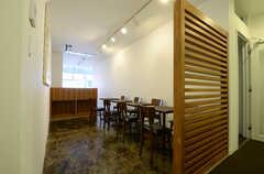 カフェスペースの様子3。(2013-03-29,共用部,LIVINGROOM,3F)