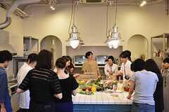 料理講習イベントの様子。(2016-06-12,共用部,PARTY,2F)