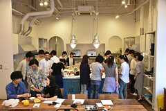 料理講習イベントの様子4。(2016-06-12,共用部,PARTY,2F)