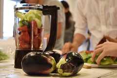 料理講習イベントの様子7。(2016-06-12,共用部,PARTY,2F)