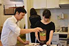料理講習イベントの様子8。(2016-06-12,共用部,PARTY,2F)