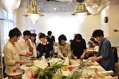 料理講習イベントの様子9。(2016-06-12,共用部,PARTY,2F)