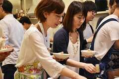 料理講習イベントの様子12。(2016-06-12,共用部,PARTY,2F)