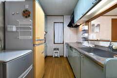 キッチンの様子。(2018-03-27,共用部,KITCHEN,2F)