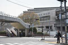 阪急宝塚本線・池田駅の様子。(2018-03-27,共用部,ENVIRONMENT,1F)