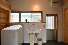 洗面台の様子。(2017-07-12,共用部,OTHER,1F)