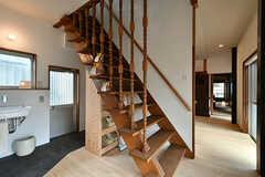 階段の様子。(2017-07-12,共用部,OTHER,1F)