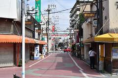 南海本線・泉佐野駅前の商店街の様子。(2017-07-12,共用部,ENVIRONMENT,1F)