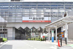 南海本線・泉佐野駅の様子。(2017-07-12,共用部,ENVIRONMENT,1F)