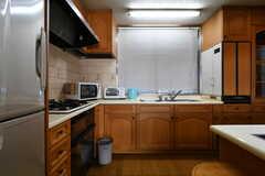 キッチンの様子。(2018-03-13,共用部,KITCHEN,1F)