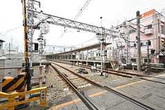 阪急線・石橋駅周辺の様子。(2016-05-25,共用部,ENVIRONMENT,1F)