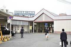 阪急線・石橋駅前の様子。(2016-05-25,共用部,ENVIRONMENT,1F)