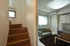 階段の様子。(2016-09-12,共用部,OTHER,1F)