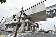 大阪モノレール彩都線・豊川駅の様子。(2016-09-12,共用部,ENVIRONMENT,1F)