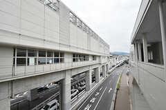 大阪モノレール彩都線・豊川駅の様子2。(2016-09-12,共用部,ENVIRONMENT,1F)