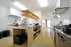 キッチンの様子2。(2014-04-09,共用部,KITCHEN,1F)