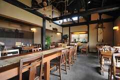 運営事業者さんが運営するカフェの様子4。(2014-04-09,共用部,ENVIRONMENT,1F)