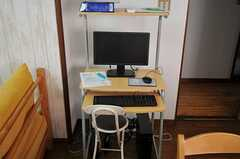 共用PCの様子。(2011-08-08,共用部,PC,3F)