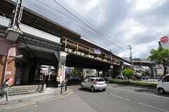 JR環状線・福島駅前の様子。(2013-07-01,共用部,ENVIRONMENT,1F)