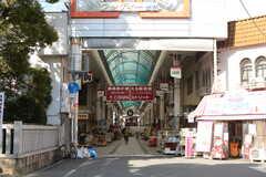 千鳥橋周辺は商店街が充実しています。(2017-12-12,共用部,ENVIRONMENT,1F)