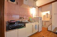 キッチンの様子。(2015-09-02,共用部,KITCHEN,2F)