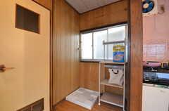 洗濯機が設置される予定です。(2015-09-02,共用部,LAUNDRY,2F)