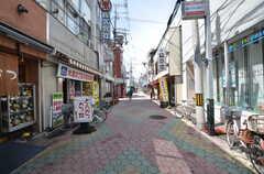 千林大宮駅から続く商店街の様子。(2015-09-02,共用部,ENVIRONMENT,1F)