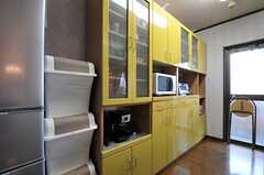 シェアハウスのキッチンの様子2。(2010-10-10,共用部,KITCHEN,7F)