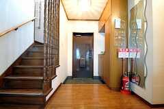 内部から見た玄関周りの様子。(2011-05-29,周辺環境,ENTRANCE,7F)