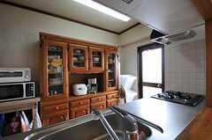 食器棚の様子。(2011-05-29,共用部,KITCHEN,7F)