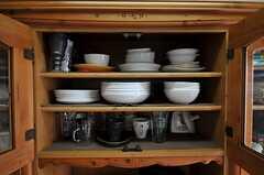 食器棚の様子2。(2011-05-29,共用部,KITCHEN,7F)