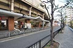 JR関西本線・東部市場前駅の様子。(2013-01-31,共用部,ENVIRONMENT,1F)