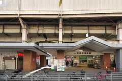 JR関西本線・東部市場前の様子。(2013-01-31,共用部,ENVIRONMENT,1F)