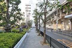JR関西本線・東部市場前の様子2。(2013-01-31,共用部,ENVIRONMENT,1F)