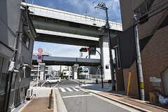 大阪市営地下鉄中央線・朝潮橋駅周辺の様子。(2016-07-04,共用部,ENVIRONMENT,1F)