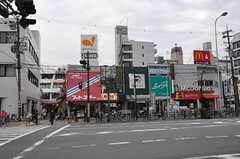 シェアハウスから大阪市営地下鉄谷町線・都島駅前の様子。(2013-09-13,共用部,ENVIRONMENT,1F)