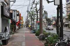 シェアハウスから大阪市営地下鉄谷町線・都島駅へ向かう道の様子。(2013-09-13,共用部,ENVIRONMENT,1F)