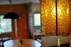 ソファスペースの照明の様子。(2014-02-02,共用部,LIVINGROOM,2F)
