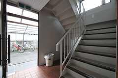 階段の様子。(2011-08-08,共用部,OTHER,1F)