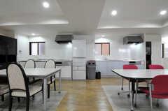 キッチンの様子。(2012-09-15,共用部,KITCHEN,3F)