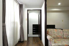 専有部の入り口の様子3。(613号室)(2012-09-15,専有部,ROOM,6F)