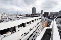 屋上の様子2。(2012-09-15,共用部,OTHER,8F)