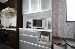 キッチン家電の様子。(2013-04-30,共用部,KITCHEN,3F)