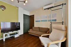 共用TVも設置されています。(2020-06-27,共用部,TV,3F)