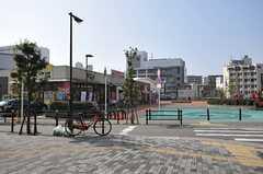 各線・天下茶屋駅の周辺の様子。(2014-02-02,共用部,ENVIRONMENT,1F)