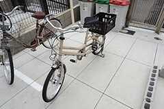 共用の自転車の様子。(2015-06-03,共用部,GARAGE,3F)