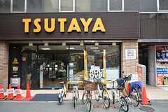 TSUTAYAは玄関を出て1分です。(2015-08-13,共用部,ENVIRONMENT,1F)