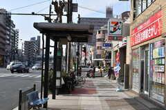 大阪市営地下鉄四つ橋線・玉出駅前の様子。(2018-01-29,共用部,ENVIRONMENT,1F)